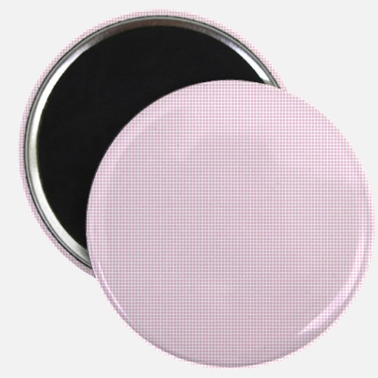 Light Pink and White Checkered Plaid Magnets