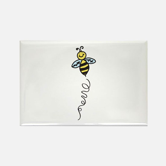 Yellow Bee Magnets