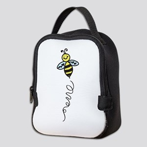 Yellow Bee Neoprene Lunch Bag