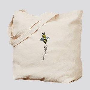 Yellow Bee Tote Bag