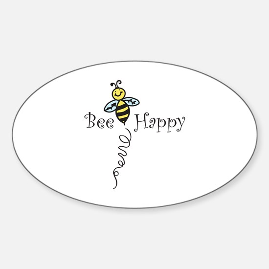 Bee Happy Decal