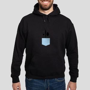 Silverware Shirt Pocket Hoodie