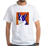 Welsh Corgi White T-Shirt