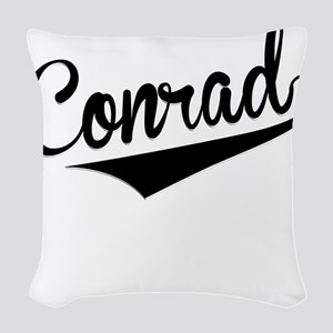 Conrad, Retro, Woven Throw Pillow