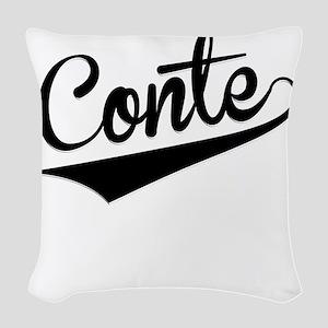 Conte, Retro, Woven Throw Pillow