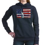 911 Never Forget Women's Hooded Sweatshirt