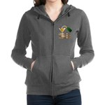 Champagne Party Celebration Women's Zip Hoodie