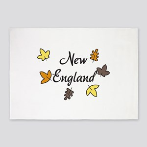 New England 5'x7'Area Rug