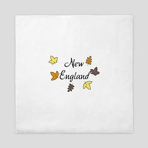 New England Queen Duvet