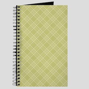 Sage Green Plaid Journal