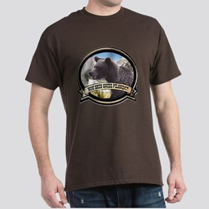Can you skin Griz bear hunter Dark T-Shirt