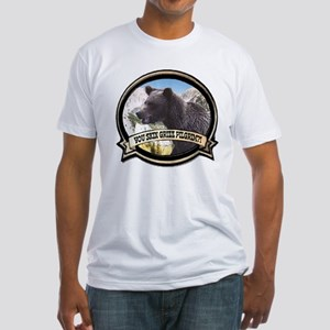Can you skin Griz bear hunter Fitted T-Shirt
