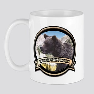 Can you skin Griz bear hunter Mug
