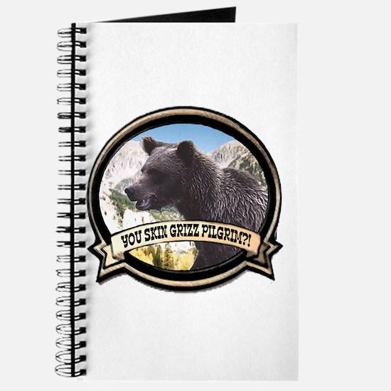 Can you skin Griz bear hunter Journal