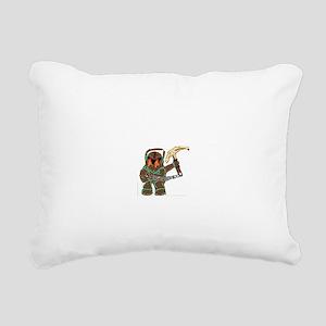 Nautilus Rectangular Canvas Pillow