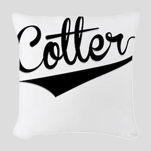 Cotter, Retro, Woven Throw Pillow