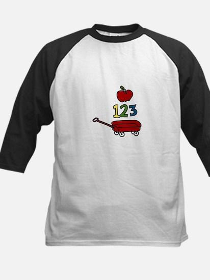 School Wagon Baseball Jersey