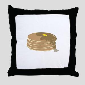Pancake Stack Throw Pillow