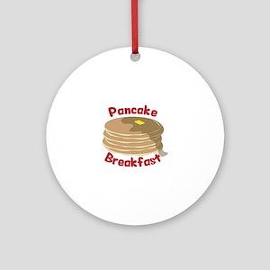 Pancake Breakfast Ornament (Round)