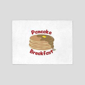 Pancake Breakfast 5'x7'Area Rug