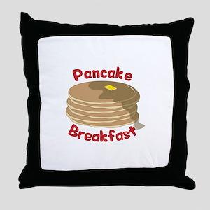 Pancake Breakfast Throw Pillow