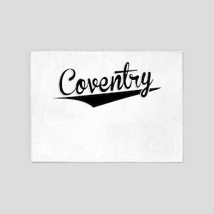 Coventry, Retro, 5'x7'Area Rug