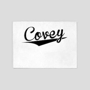 Covey, Retro, 5'x7'Area Rug