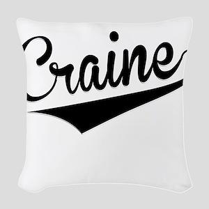 Craine, Retro, Woven Throw Pillow