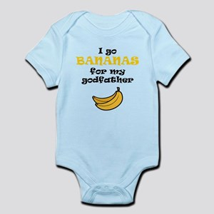 I Go Bananas For My Godfather Body Suit