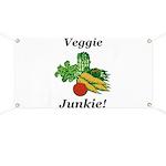 Veggie Junkie Banner