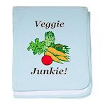 Veggie Junkie baby blanket