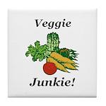 Veggie Junkie Tile Coaster