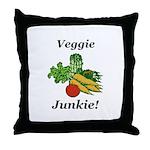 Veggie Junkie Throw Pillow
