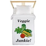 Veggie Junkie Twin Duvet
