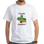 Veggie Junkie White T-Shirt