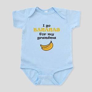I Go Bananas For My Grandma Body Suit