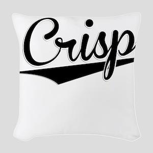 Crisp, Retro, Woven Throw Pillow
