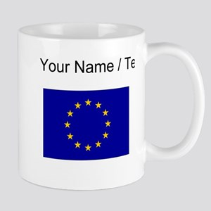 Custom European Union Flag Mugs
