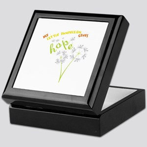 MY LITTLE DANDELION GIVES Hope Keepsake Box