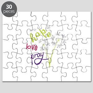 Hope Love pray Puzzle