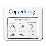 Copy Editor Yoga Mousepad