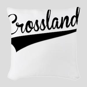 Crossland, Retro, Woven Throw Pillow