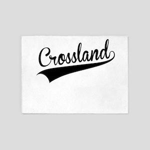 Crossland, Retro, 5'x7'Area Rug