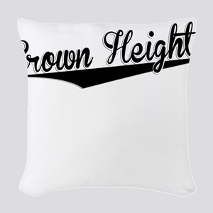 Crown Heights, Retro, Woven Throw Pillow