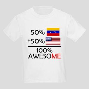 Half Venezuela Half American T-Shirt