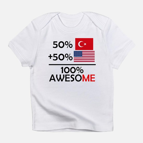 Half Turkish Half American Infant T-Shirt