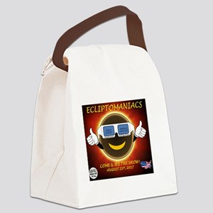 Ecliptomaniac Eclipse Show Canvas Lunch Bag