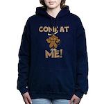 Come At Me! bull Women's Hooded Sweatshirt