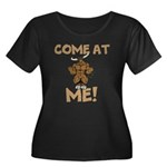 Come At Me! bull Plus Size T-Shirt