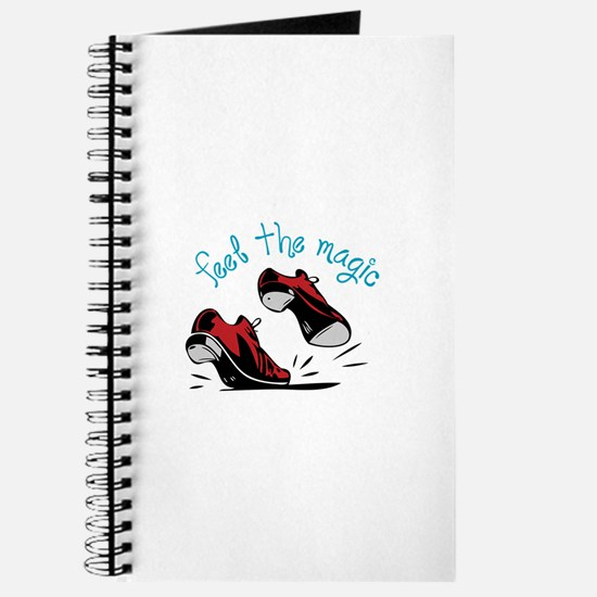 feet the magic Journal